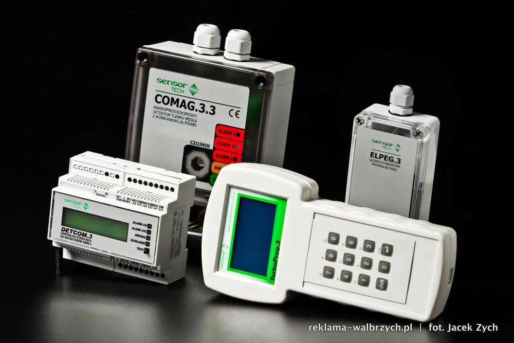 Fotografie katalogowe dla Sensor Tech z Wrocławia