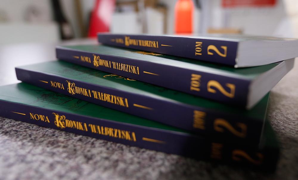 Zakończyliśmy prace nad II tomem Nowej Kroniki Wałbrzyskiej