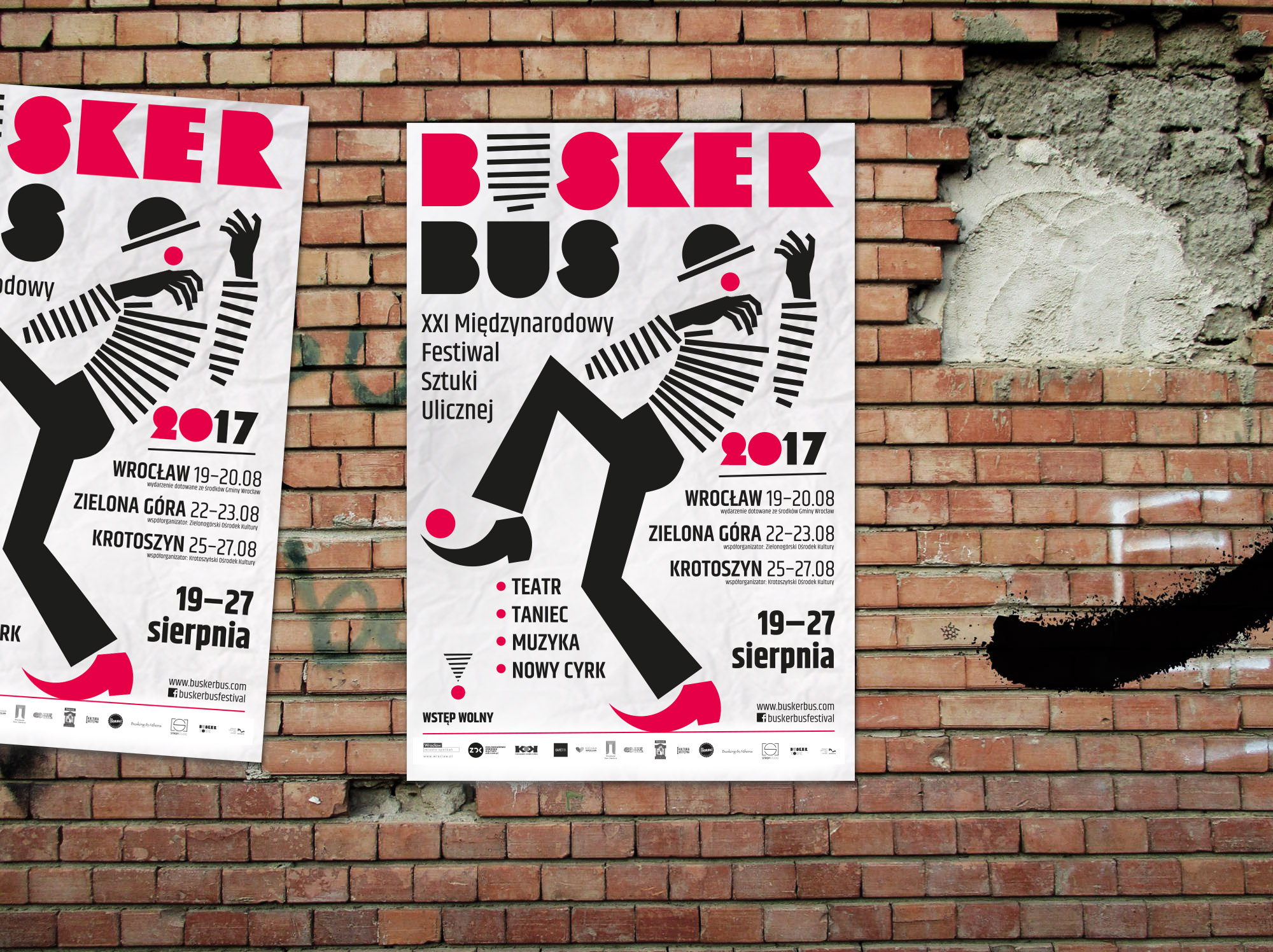 Festiwal sztuki ulicznej Busker Bus